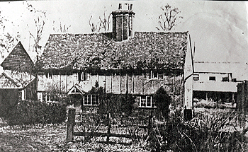 Lynch Farm Cottage about 1900 [Z883/5]